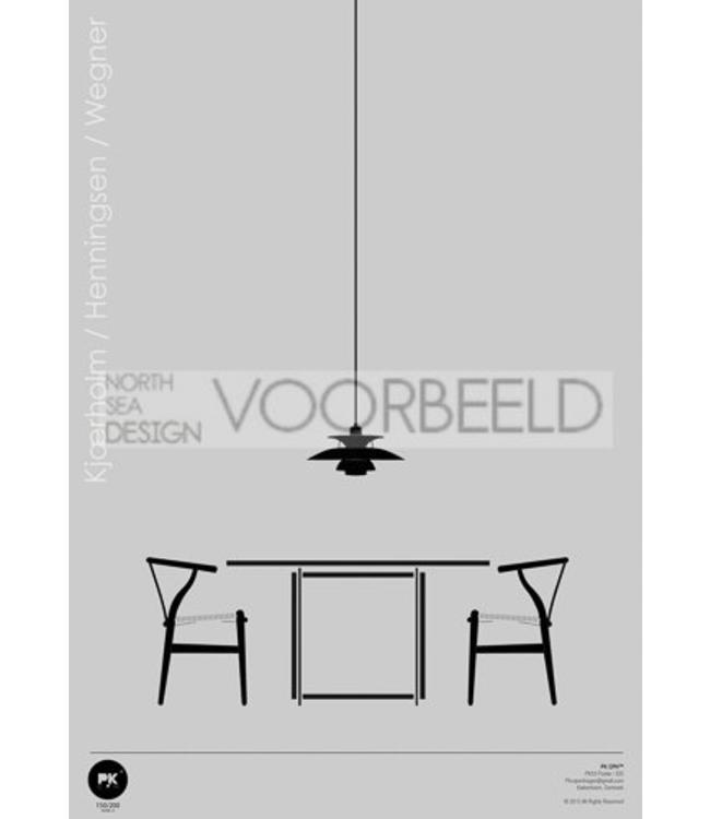 Pk Posters™ Poster Scandinavisch Design Interieur
