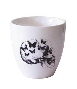Mug Skull Butterflies