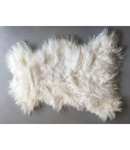 Lambskin white | long hair