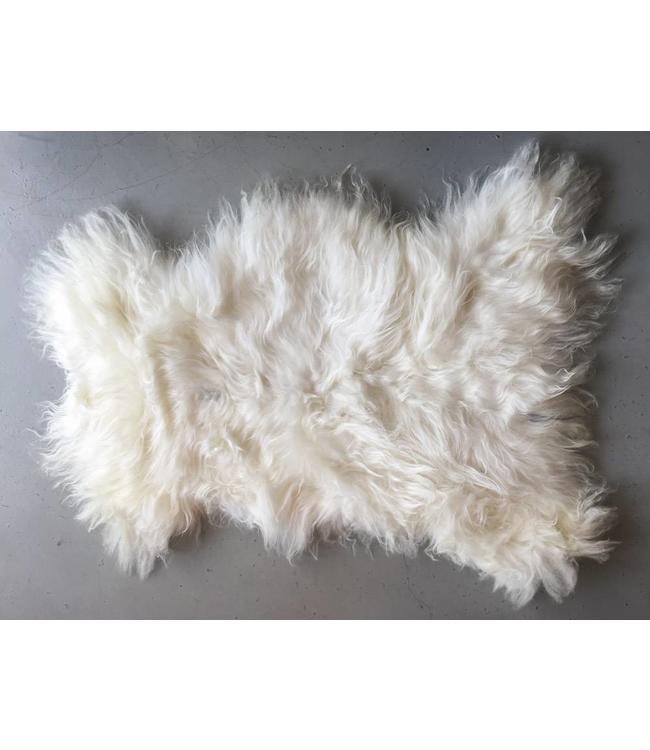 Lamsvacht wit | lang haar