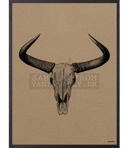 Vanilla Fly Poster | BULL | 20x25 cm