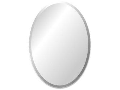 Ovaler Spiegel Ohne Rahmen Kunstspiegelde