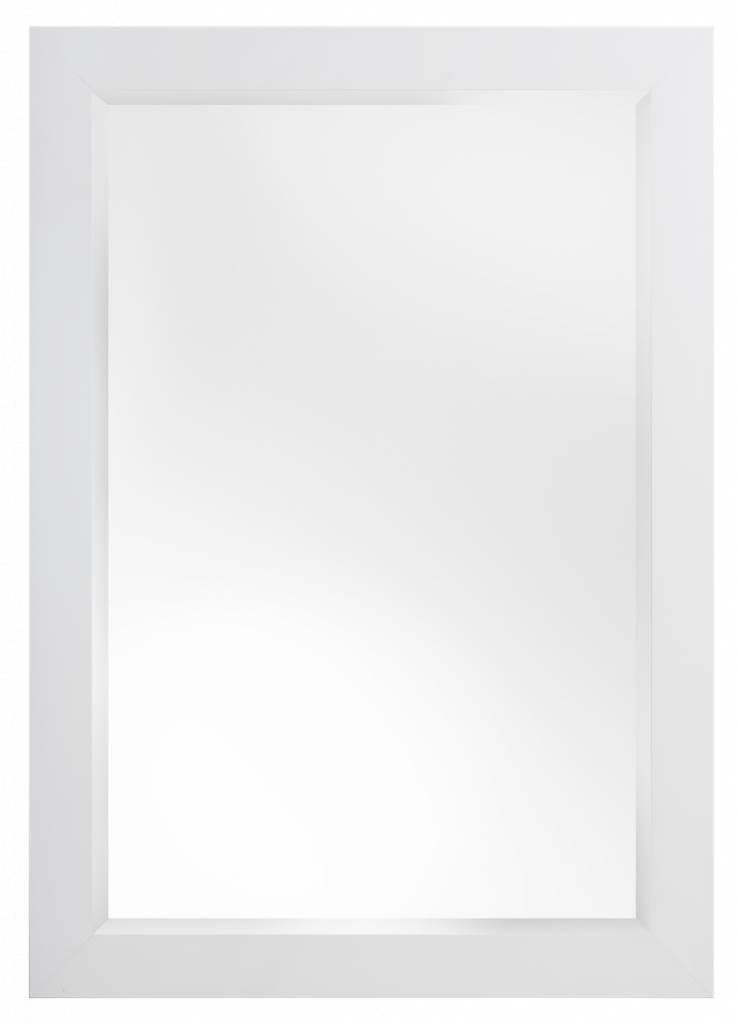 Milano Luxuriöser moderner weißer Spiegel