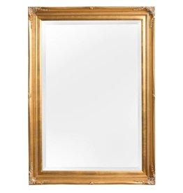 Verona - Atmosphäre schaffender Spiegel mit klassischem goldem Rahmen