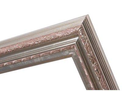 Montpellier - Silber Rahmen aus Holz
