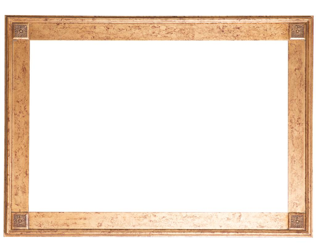 Palma - Einzigartiger goldener Rahmen