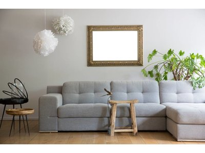 Marbella - Silberner Barock-Rahmen