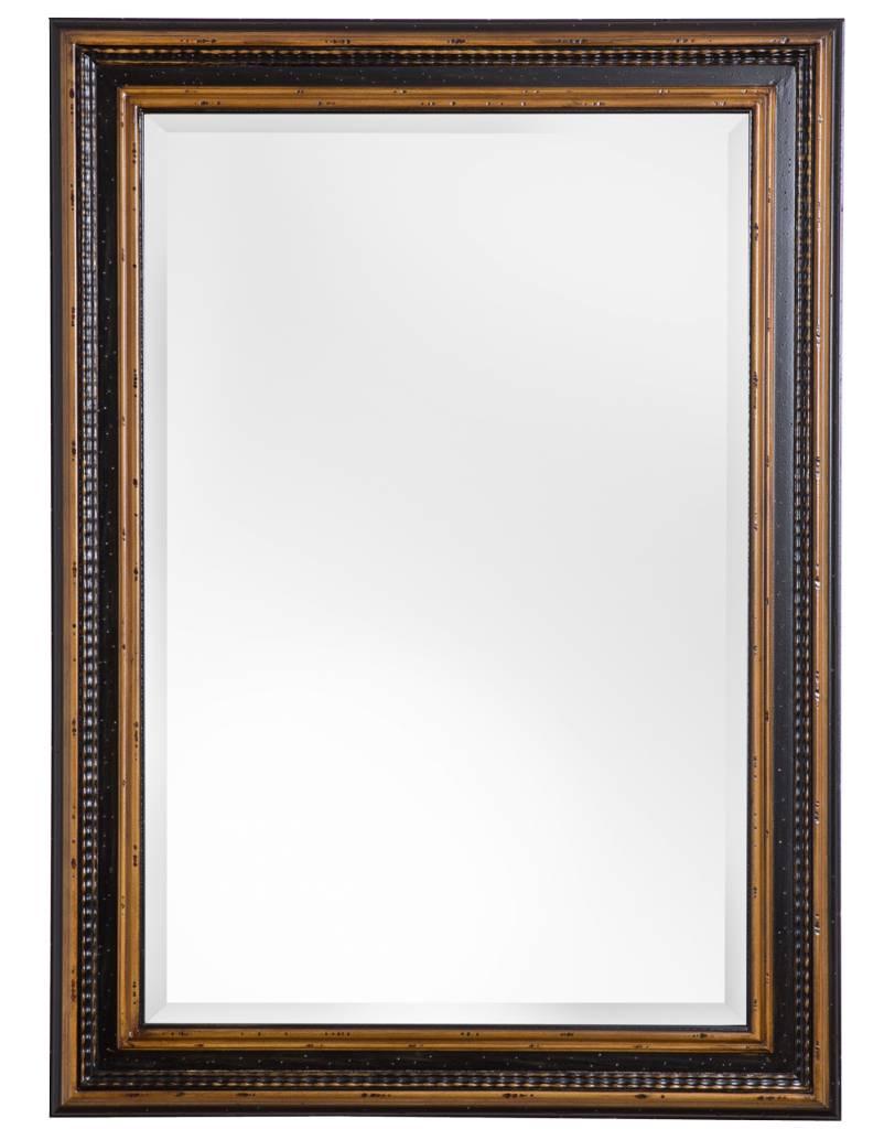Bilbao - Spiegel mit schwarzbraunem Rahmen