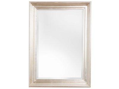 Brescia - Spiegel mit modernem silbernen Rahmen