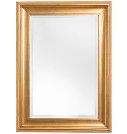 Foggia - Spiegel mit modernem goldenem Rahmen
