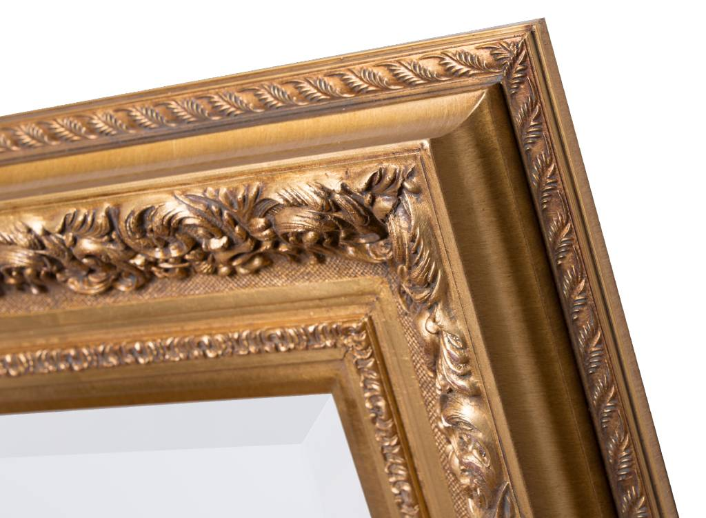 Genova - Spiegel mit barockem Goldrahmen