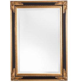 Naples - Spiegel mit schwarzgoldenem Rahmen