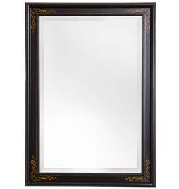 Sevilla - Spiegel mit einzigartigem schwarzem Rahmen