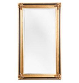 Valencia - goldener Rahmen mit Spiegel