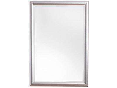 Augusta - Spiegel mit modernem silbernen Rahmen