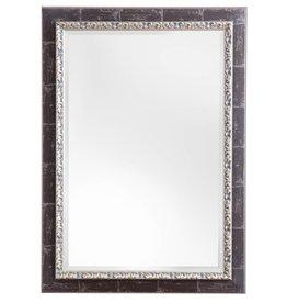 Bosa - Spiegel mit silberbraunem Rahmen