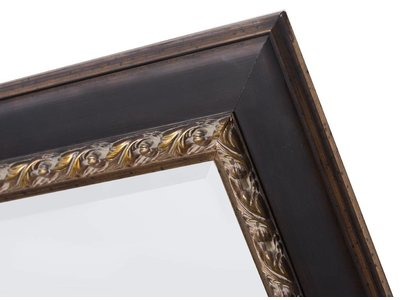 Forli - Spiegel mit dunkelbraunem Rahmen