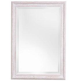 Bianco - Spiegel mit weißem Holzrahmen