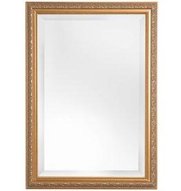 Palmi - Facettenspiegel mit goldenem Barock-Rahmen
