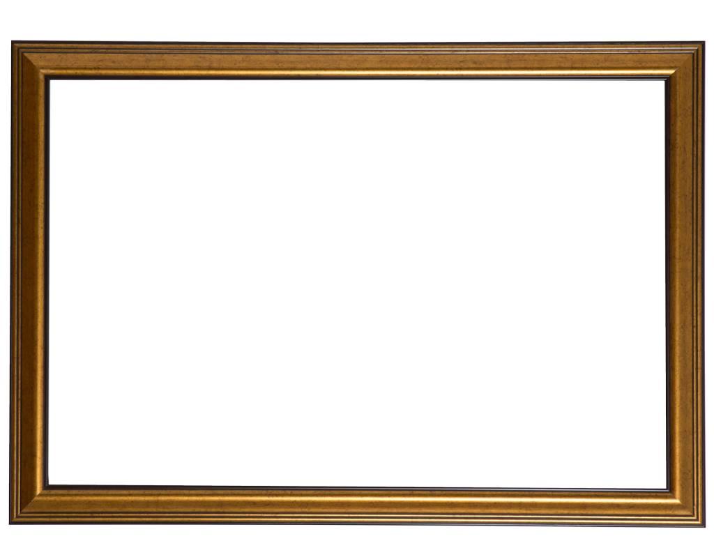 Rieti - goldbrauner Rahmen
