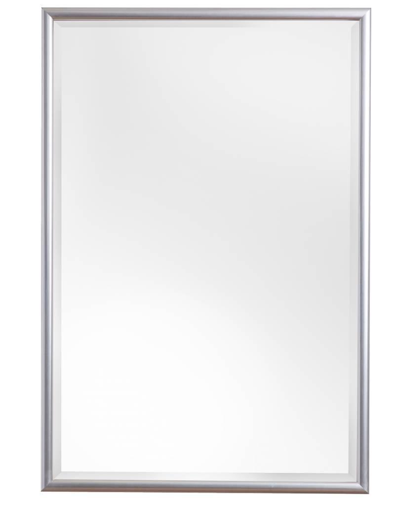 Torretta - Spiegel mit silbernem Rahmen