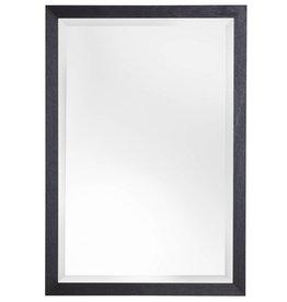 Boriana - Atmosphäre schaffender preiswerter Spiegel mit schwarzem Rahmen