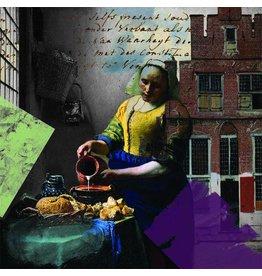 Vermeer, Ver More Milk - Kunstdruck - Iris van der Meer
