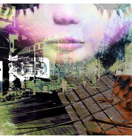 Top of the world - Kunstdruck - Iris van der Meer