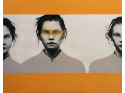 orange Frauen
