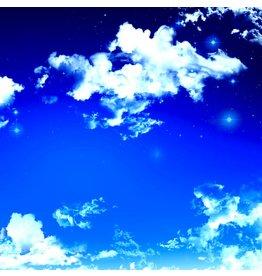 Night Sky - Fotokunst - Kunstdruck auf Leinwand