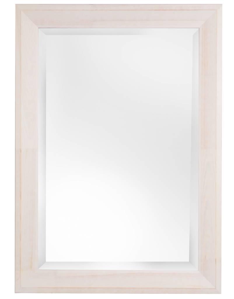 Der Nantes Spiegel mit weißem Rahmen