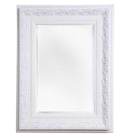 Genova - Spiegel mit weißem Barock-Rahmen
