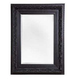 Genova - Spiegel mit schwarzem Barock-Rahmen
