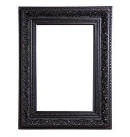 Genova - schwarzer Barock-Rahmen