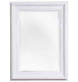 Vigo - Spiegel mit weißem Barock-Rahmen