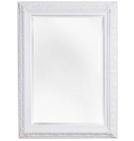 Zaragoza - Spiegel mit weißem Barock-Rahmen