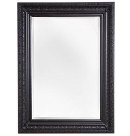 Antibes - Spiegel mit schwarzem Barock-Holzrahmen