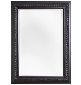 Ferrara - Spiegel mit schwarzem Rahmen