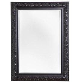 Zaragoza - Spiegel mit schwarzem Barock-Rahmen