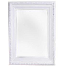 Valence - Spiegel mit weißem Barock-Rahmen