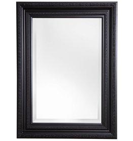 Valence - Spiegel mit schwarzem Barock-Rahmen