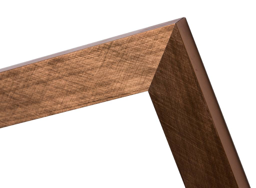Ormea - moderner bronzener Rahmen