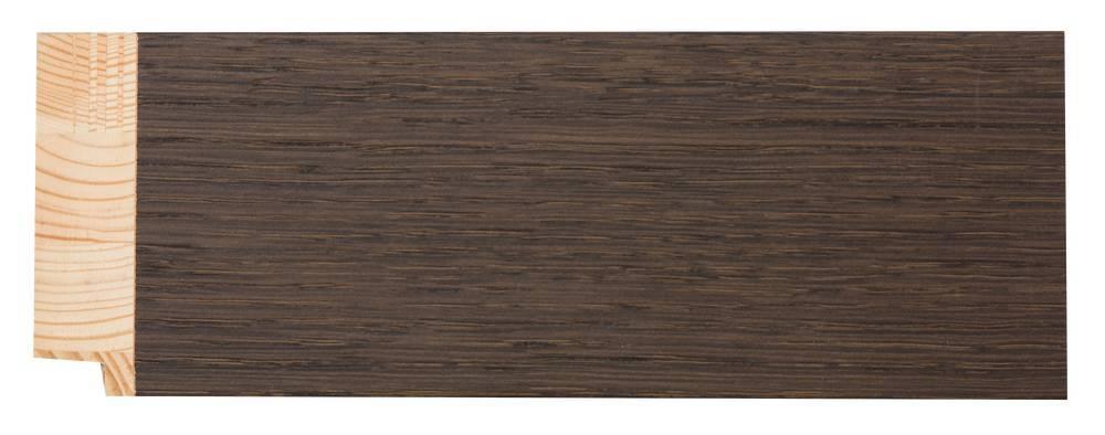 Sardinia Grande - breiter Rahmen aus dunklem Holz