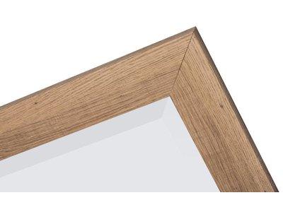 Sardinia Grande - Spiegel mit breitem Holzrahmen