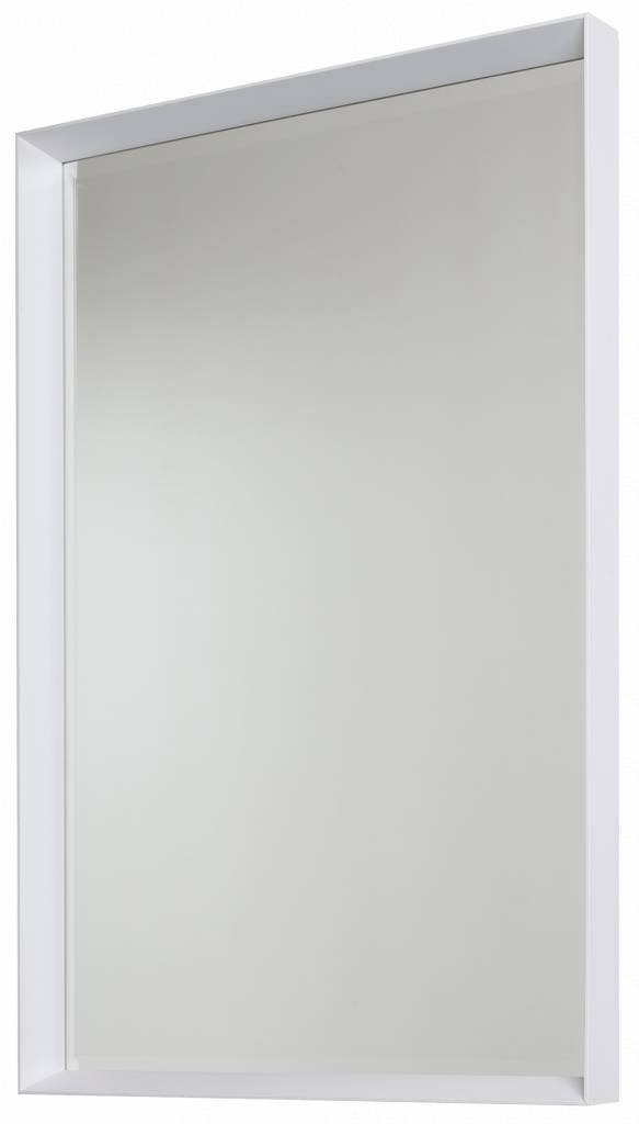 Corsica Grande - Spiegel mit weißem Schattenfugenrahmen
