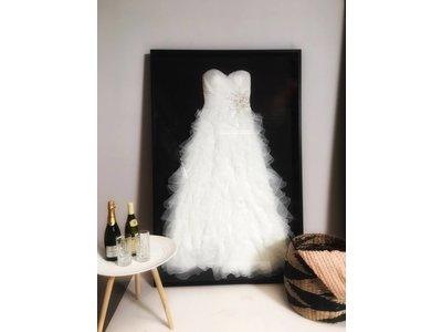 Lassen Sie Ihr Brautkleid einrahmen - Basic - Black edition