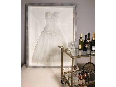 Lassen Sie Ihr Brautkleid einrahmen - Modern Style