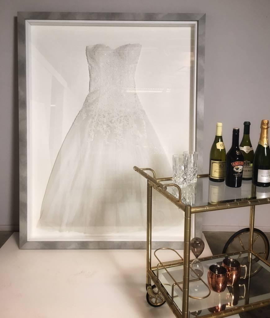 Lassen Sie Ihr Brautkleid einrahmen - Modern Style - | KunstSpiegel.de