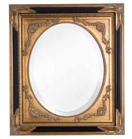 Gold Tivoli - Klassischer ovaler Spiegel