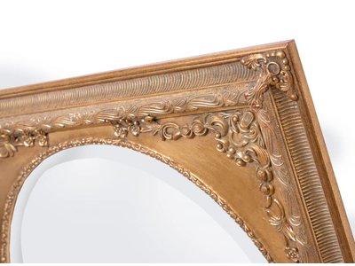 Teramo - Ovaler Classic Gold Spiegel